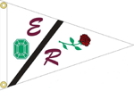 Burgee Emerald Rose Yacht Club - Seattle, USA