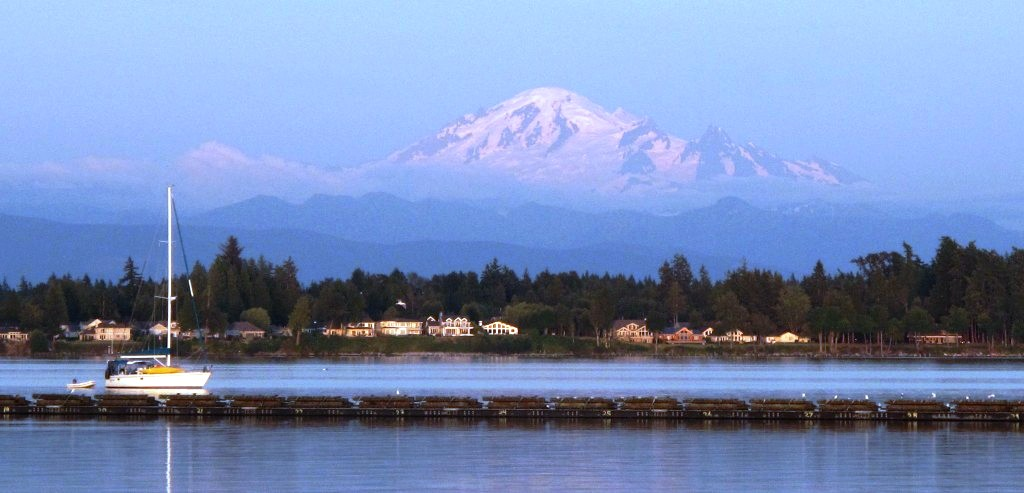 view of  Mount Baker