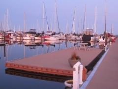 Semiahmoo reciprocal guest dock