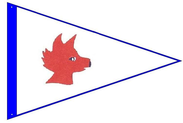 Burgee Fox Island Yacht Club - Fox Island, USA
